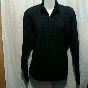 Oscar de la Renta sweater#fur collar
